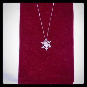 Helzberg Diamonds Snowflake Necklace